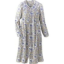 e091f4b2bc ... Womens  National Blossom Flannel Duster ...