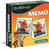 Clementoni 13956 - Memo Zootropolis