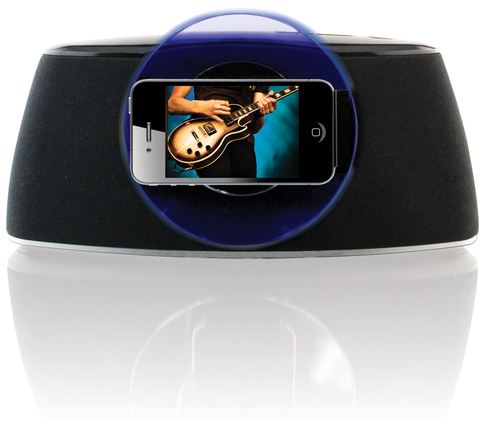 iLive iSP301B App-Enhanced Speaker with Rotating Dock for iPhone/iPod