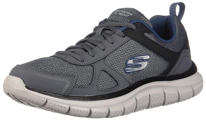 Skechers Track-Scloric Sneakers Herren Grau