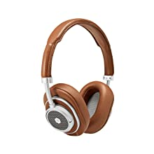 Master & Dynamic MW50+ Wireless Bluetooth Headphones - Premium Over-The-Ear Headphones - Noise Isolating - Studio & Recording Quality Headphones