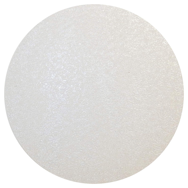 10 Dischi Adesivi Antiscivolo per Piatto Doccia e Vasca da Bagno | 1 Set di Gommini Antisdrucciolo Trasparenti da 10 Cm | By Haftplus