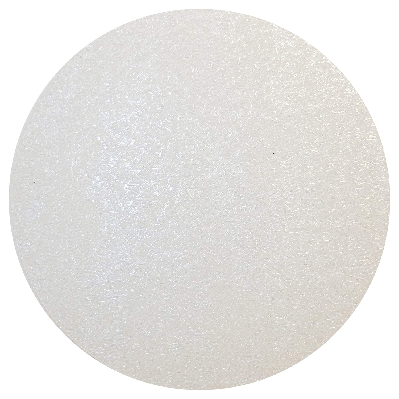 Haftplus Adhesive NonSlipShower BathAntiSlipStickers Transparent Discs - 10 Circles Ø 10 cm