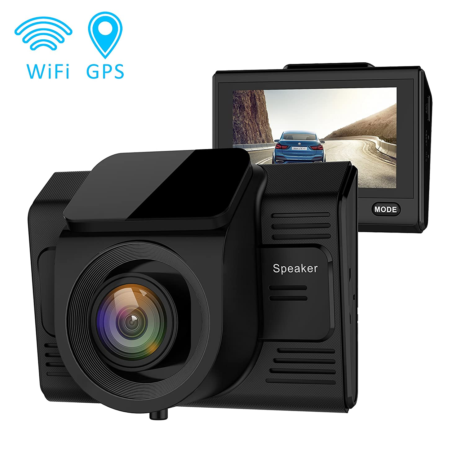 Campark Dashcam GPS Wifi Full-HD Auto Kamera HD: Amazon.de: Elektronik