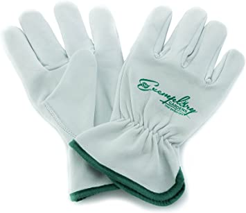 Size L Heavy Duty Double Palm Rigger Work Safety Gloves Quality Thick Leather