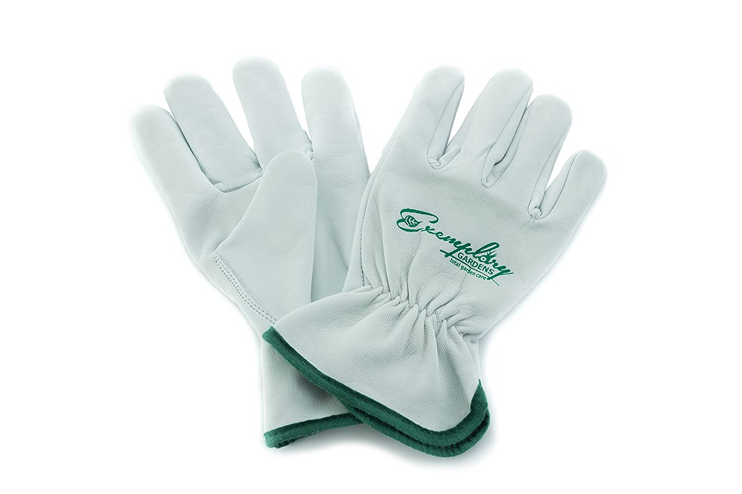 Heavy Duty Goatskin Leather Work Gloves for Men and Women. General Purpose Utility, Driver, Rigger, Safety, and Gardening Gloves (Medium)