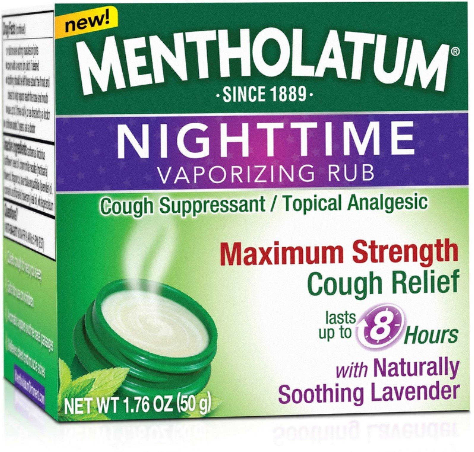 Mentholatum Night Vapor R Size 1.76z Mentholatum Night Vapor Rub 1.76z by Mentholatum