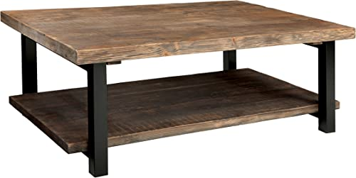Alaterre AZMBA1220 Sonoma Rustic Natural Coffee Table