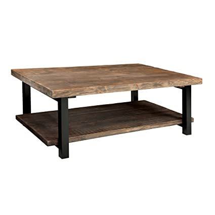 High Quality Alaterre AMBA1220 AZMBA1220 Sonoma Rustic Natural Coffee Table, Large,  Brown, 48u0026quot;