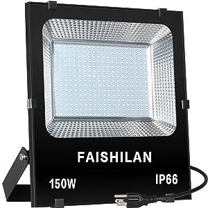 FAISHILAN LED Flood Light Outdoor IP66 Waterproof