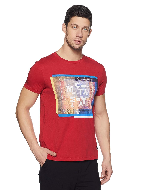 Lee Men's Printed Slim Fit T-Shirt