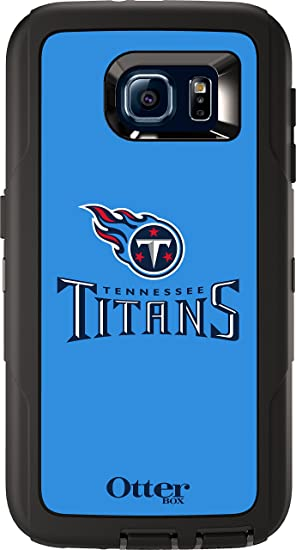 OtterBox DEFENDER SERIES/  for Samsung Galaxy S6 NFL TITANS Retail Packaging NFL TITANS BLACK W//TENNESSEE TITANS NFL LOGO