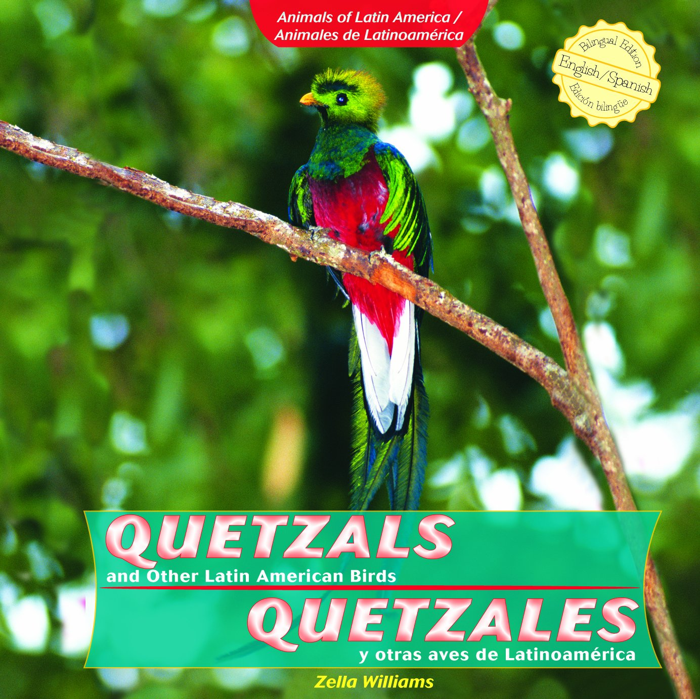 Quetzals and Other Latin American Birds / Quetzales y otras aves de Latinoamerica (Animals of Latin America / Animales De Latinoamerica) (Spanish and English Edition)