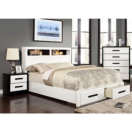 Amazon.com: Furniture of America Seleness II Modern Storage ...