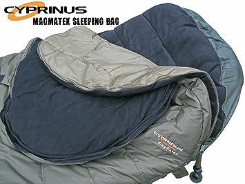 Cyprinus Magmatex - Saco de Dormir Grande para Acampada (5 Estaciones): Amazon.es: Deportes y aire libre
