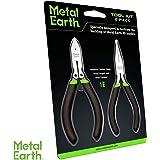 Nuevo Kit de herramientas de 3 piezas Tierra de metal Fascinations medio de acero al carbono Tool Set Reino Unido