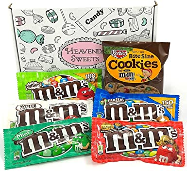 Mini Cesta Americana M&M | Chocolate y Caramelo | Golosinas para ...