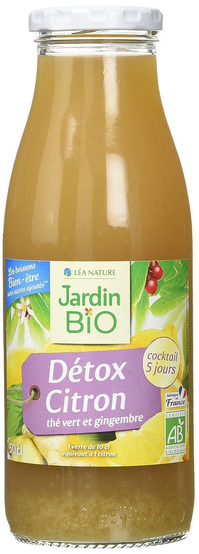 Jardin Bio Detox Citron 509 G Pack De 6 Amazon Fr Epicerie