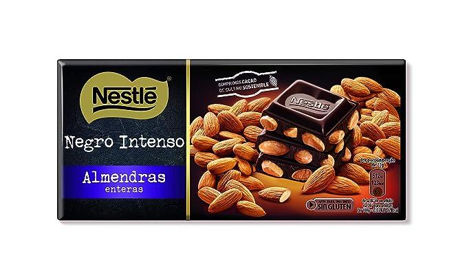 Nestlé Tableta de Chocolate Negro Intenso Ecuador - Paquete de 15 x 200 gr - Total