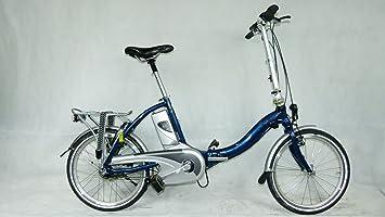 Bicicleta plegable E-Bike Flyer Eco de Luxe 159 KM prueba Cilindro de 8 Ah