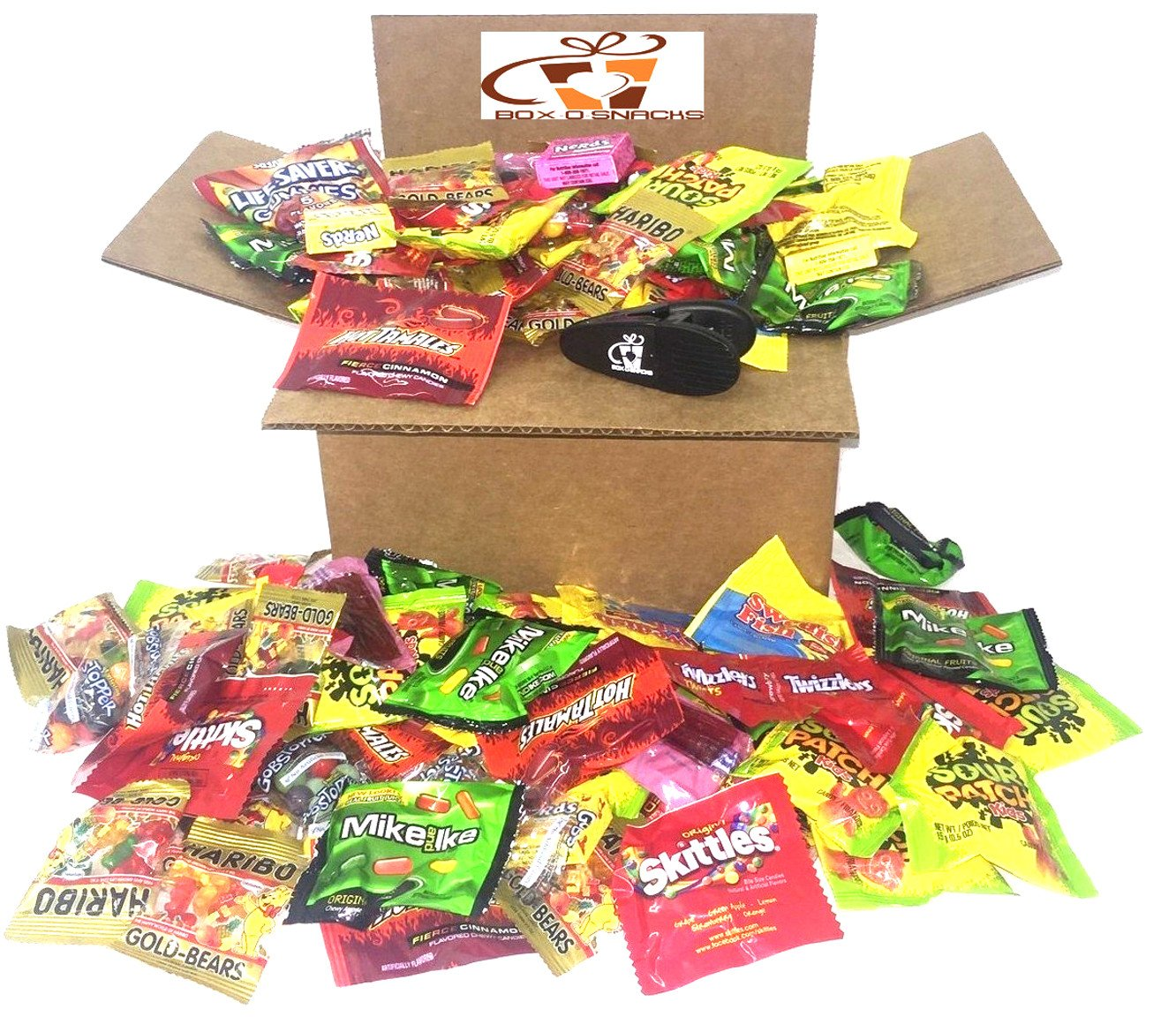 Box-O-Snacks Super Candy Variety Box 6 Pounds of Candy by The Snack Pack Co (Image #1)