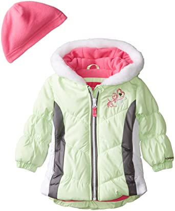 1c15ced4e Amazon.com  London Fog Baby Girls Sporty Puffer  Clothing