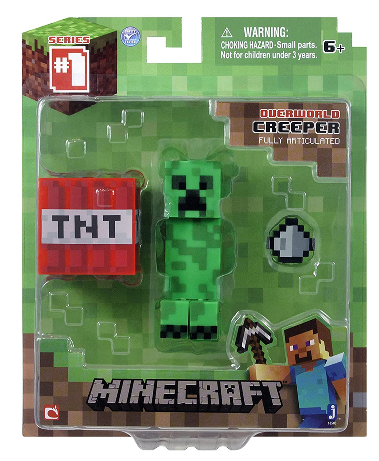 Three Way Switch In Minecraft 3 Inch Creeper Action Figure Toys Games