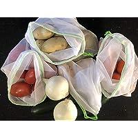 8 bolsas ecologicas para la fruta y la verdura supermercado
