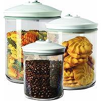 FoodSaver FSC003-I-065 - Set de 3 tarros