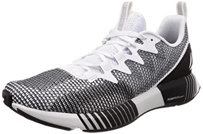 6fa706dbe Reebok Men s White Skull Grey Black Running Shoes-10 UK India (44.5 ...