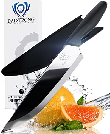 Amazon.com: DALSTRONG Ceramic Chef Knife - Infinity Blade: Kitchen ...
