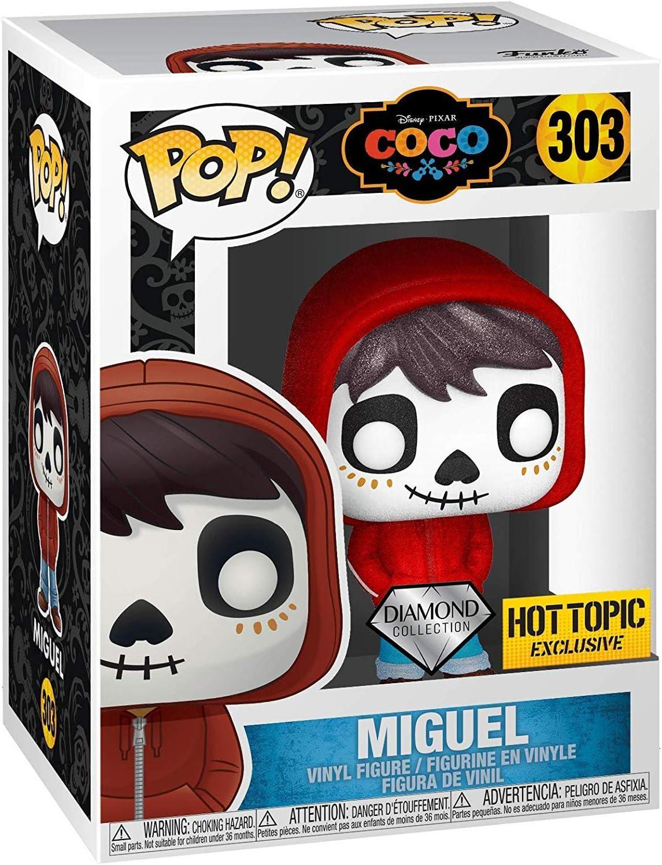 Funko Pop! 303 Disney Pixar Coco Miguel Hot Topic Exclusive ...