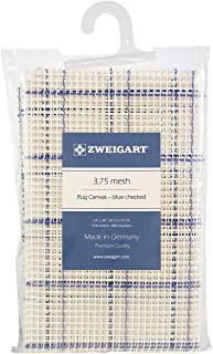 M C G Textiles White MCGTD Rug Canvas Mesh 24 by 30 by 3.75-Inch