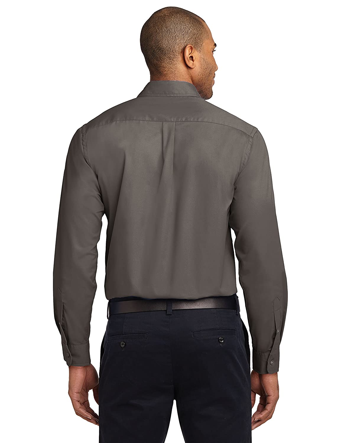 Custom Embroidered Casual Button Downs Long Sleeve Embroidery Button Up Shirts