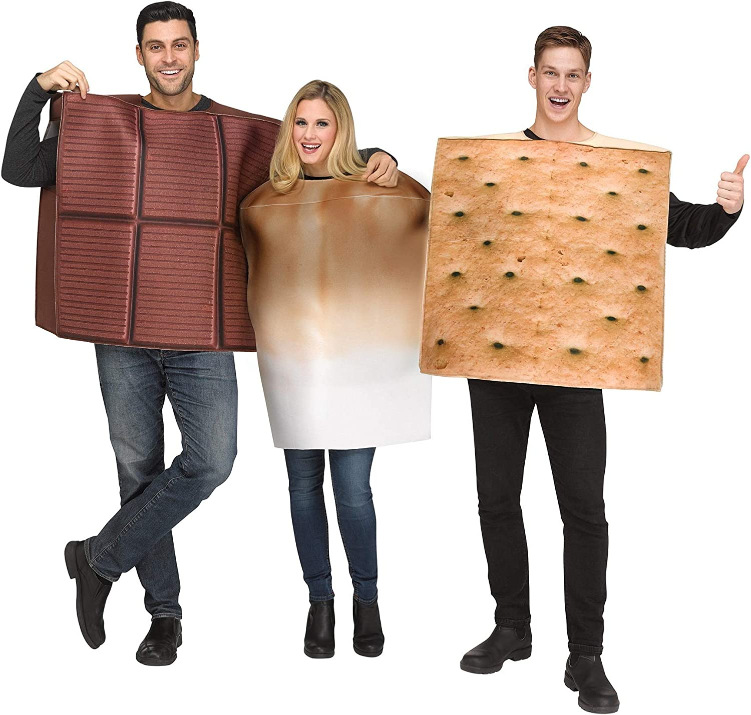 Adult S'Mores Costume Standard