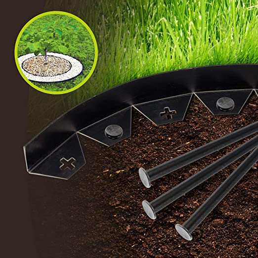 SmashingDealsDirect Valla de Pared Flexible para jardín o Exterior ...