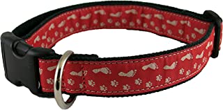 product image for The Good Dog Company-- Hemp Dog Collar -Best Friends Pattern