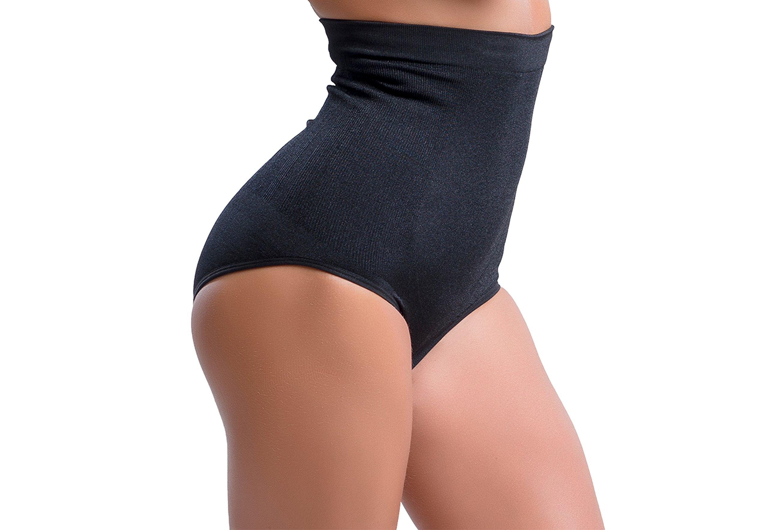 7ee0dadda4f Galleon - 360 Sexy Strapless Shapewear Bodysuit W/High Waist Tummy Control  Slim Panties