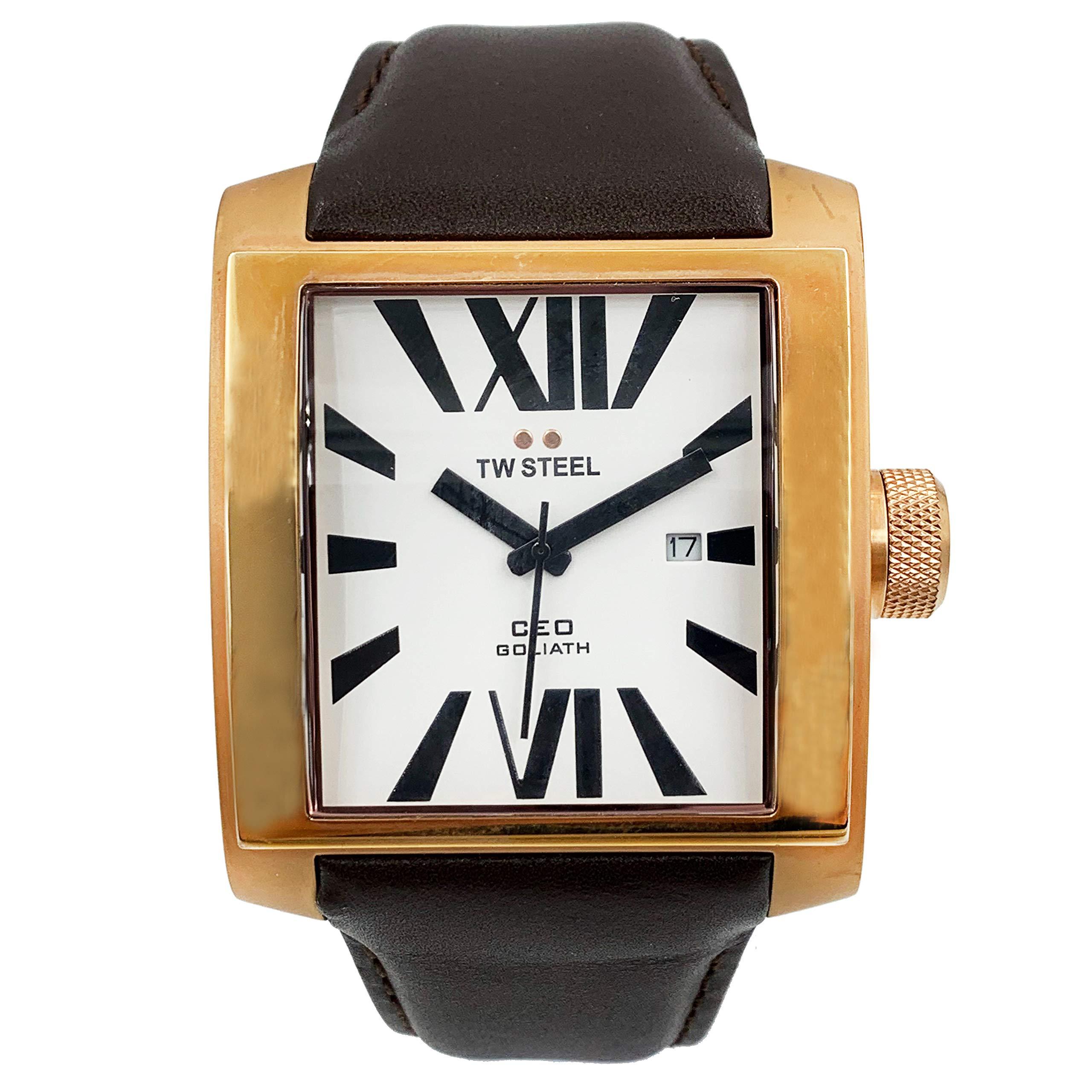 TW Steel CEO Quartz Male Watch CE3008 (Certified Pre-Owned) by TW Steel
