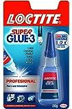 Loctite Super Glue-3 profesional, adhesivo universal instantáneo, 20gr