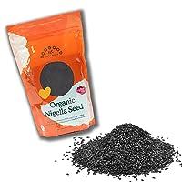 Certified Organic Nigella Seeds, Kalonji Black Cumin, non-GMO, India (1 pound, 16 ounces)