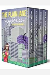 The Plain Jane Mysteries: The First Four Books: A Cozy Christian Collection Kindle Edition