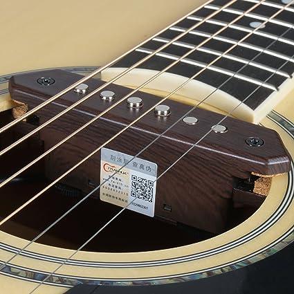 Amazon Com Tylanhua Acoustic Folk Guitar Pickups 10 Feet Straight