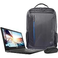 """Dell Inspiron I3567_i581TSW10sB_119 Laptop 15.6"""" HD, Intel Core i5-7200U, 8GB RAM, 1TB HDD, Windows 10 (Bundle con mochila y mouse Dell)"""