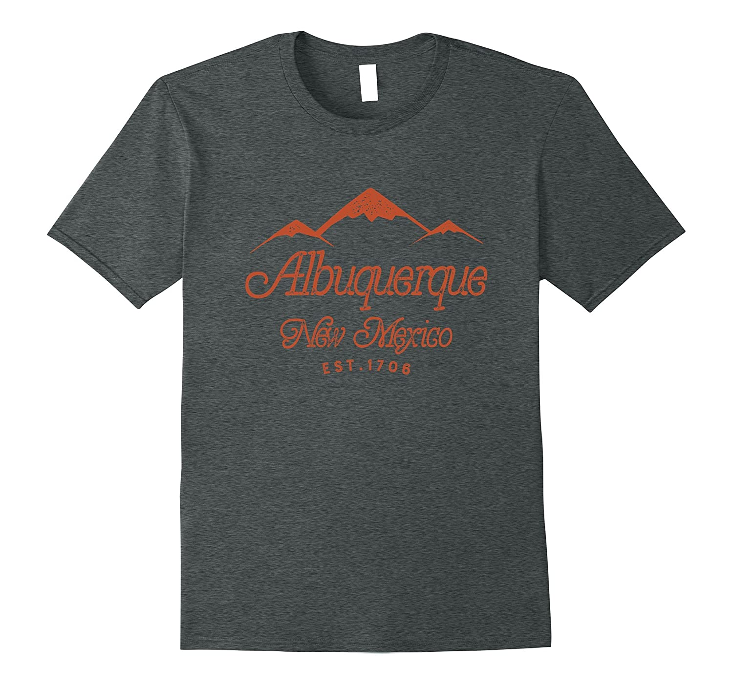 Albuquerque New Mexico - Mountain State 1706 T-Shirt-T-Shirt