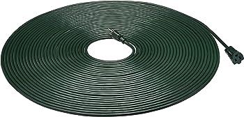 AmazonBasics 100-Foot 16/3 Vinyl Outdoor Extension Cord