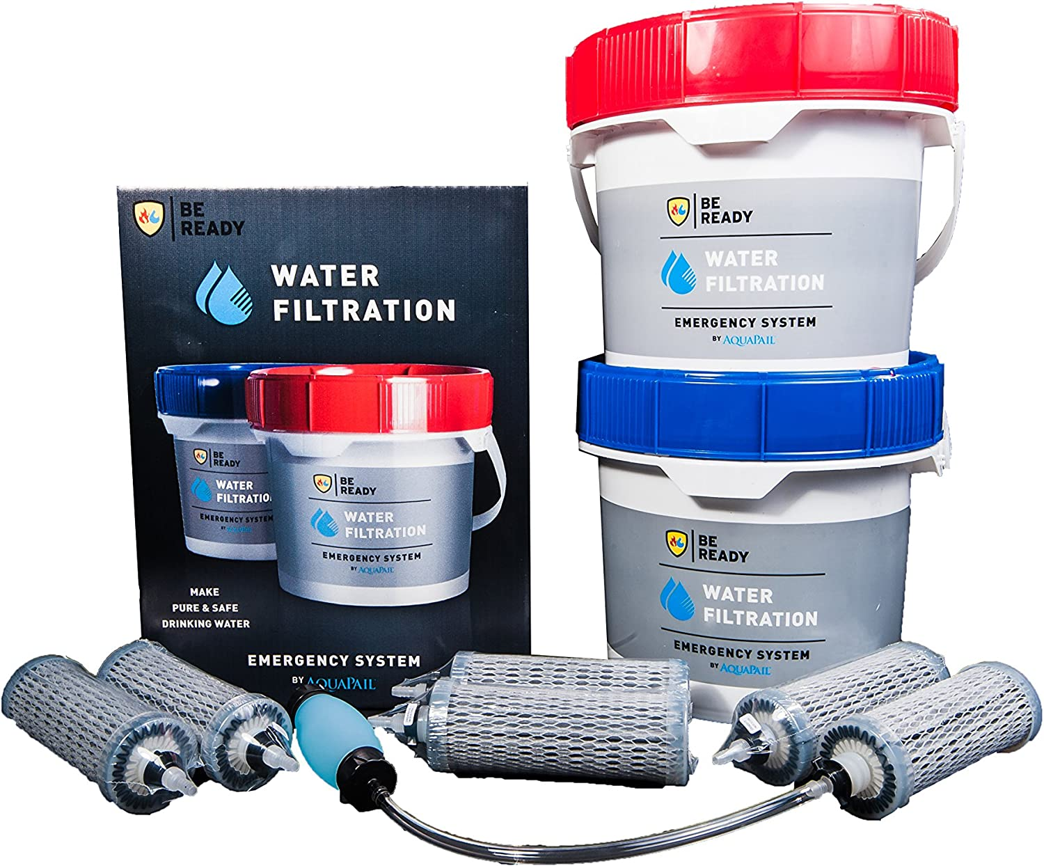Ready Water 5 Stage Emergency Gravity Filter