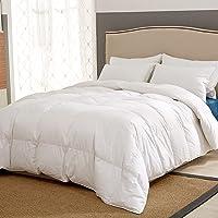 Puredown All-Seasons Down King Comforter (White)