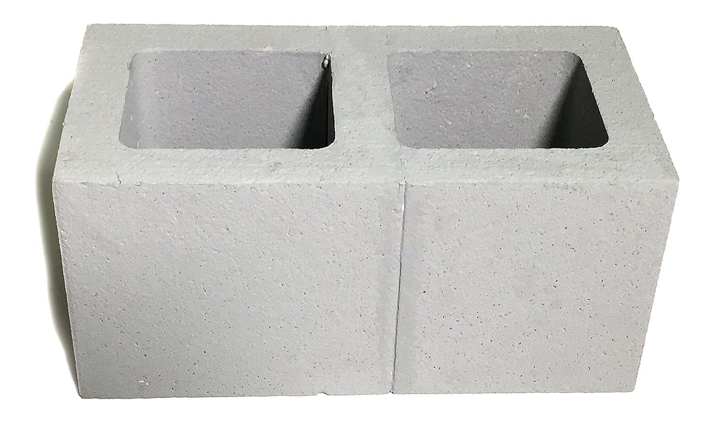 Amazon.com: NewRuleFX Lightweight Polystyrene Cement Cinder Block ...