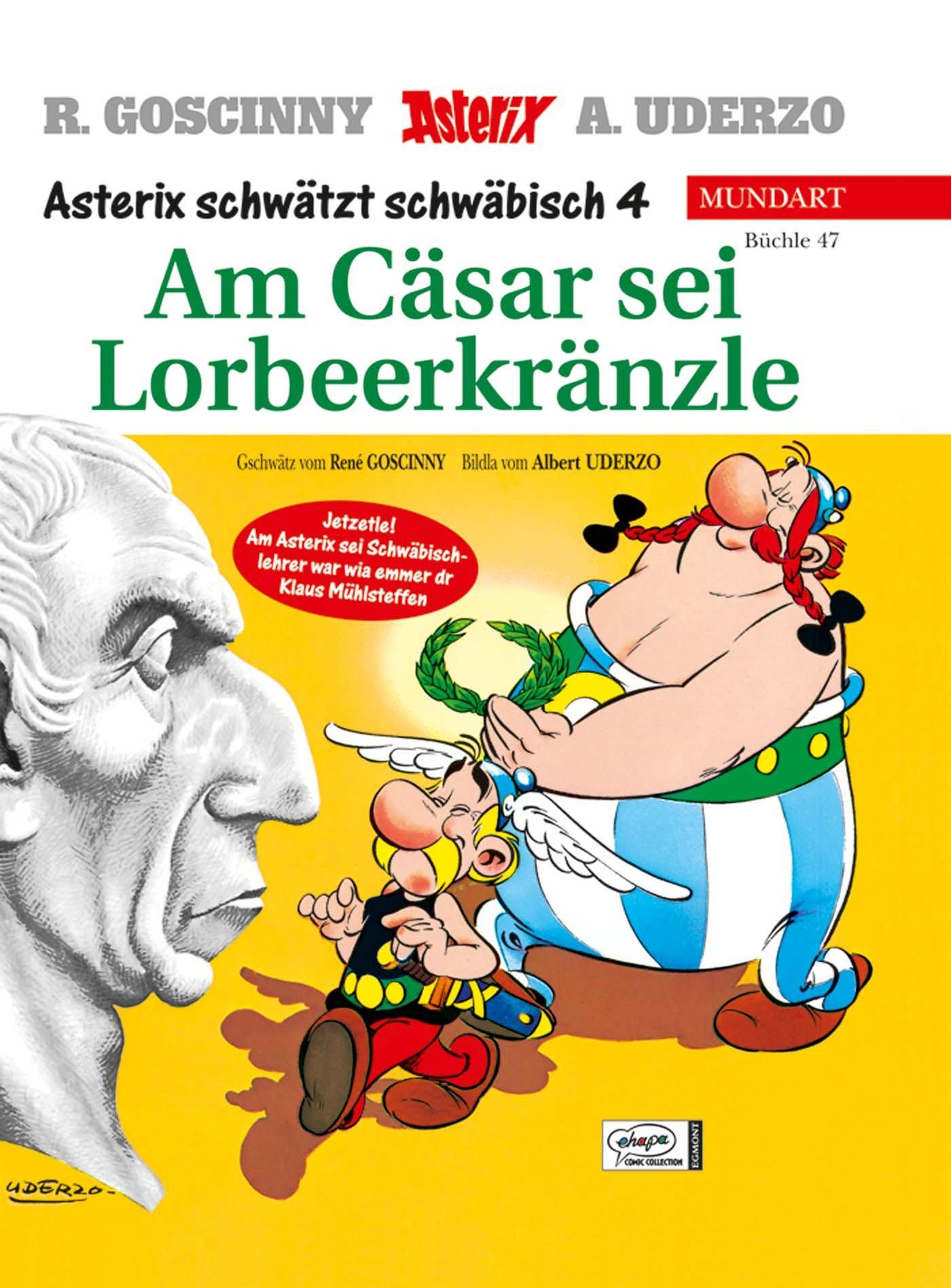 Schwäbisch asterix mundart büchle 47 asterix schwätzt schwäbisch amazon de